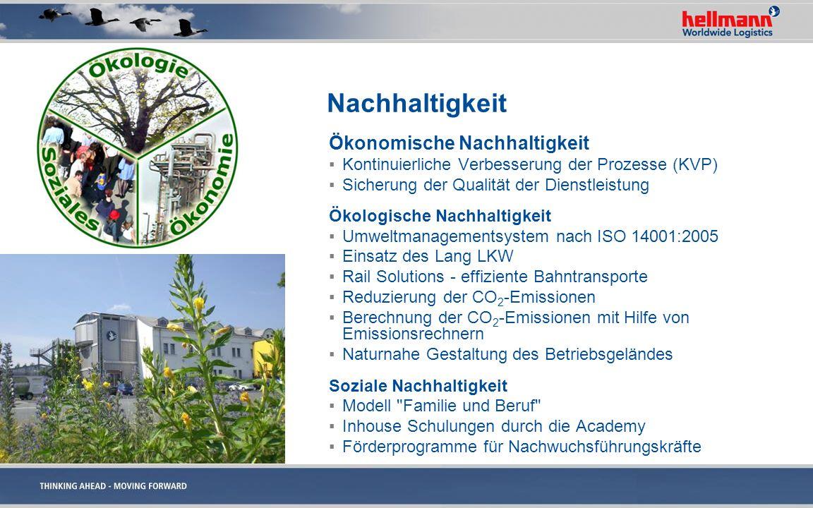 Nachhaltigkeit Ökonomische Nachhaltigkeit