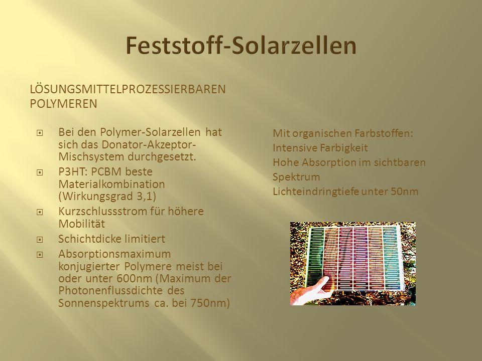Feststoff-Solarzellen