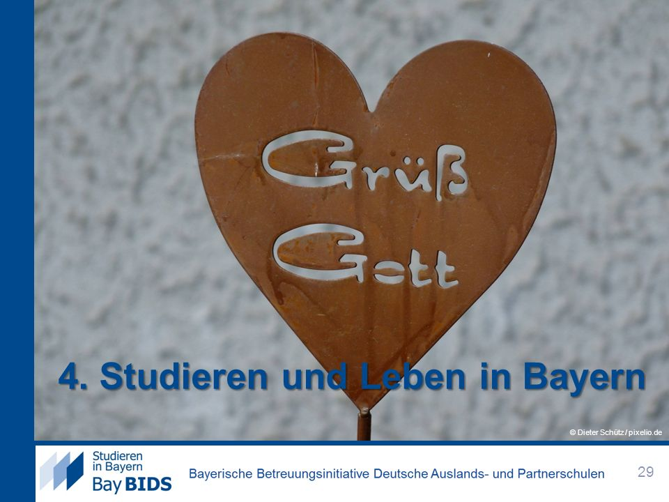 4. Studieren und Leben in Bayern