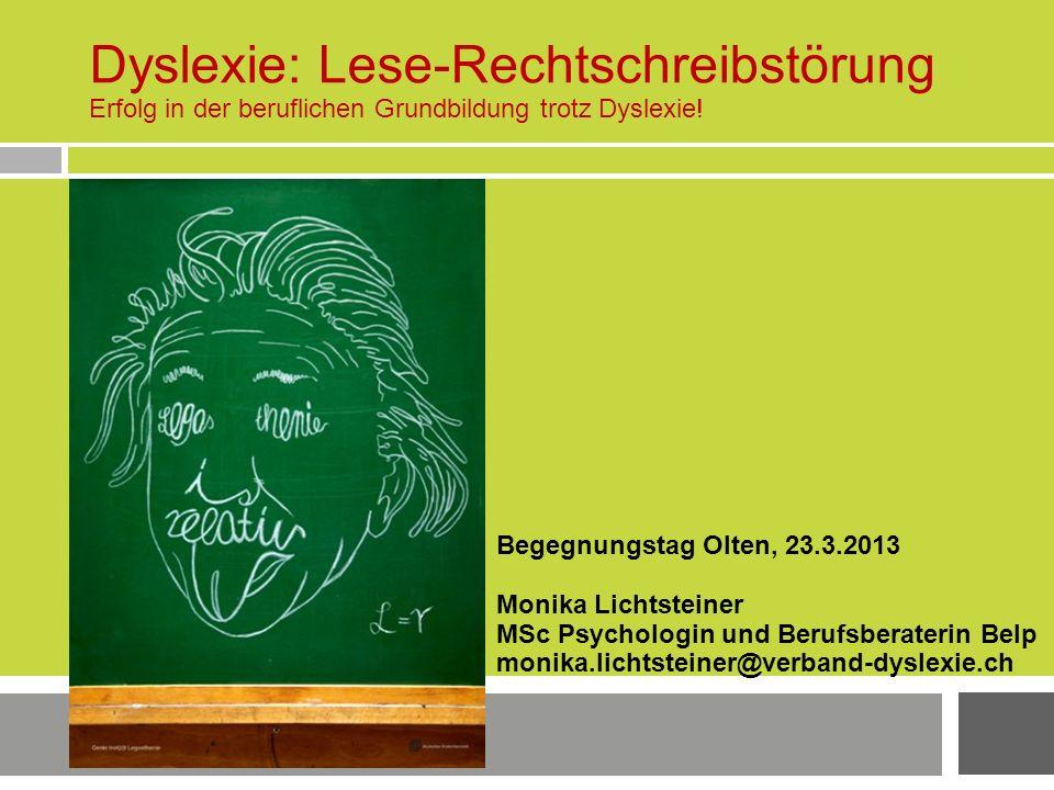 Dyslexie: Lese-Rechtschreibstörung