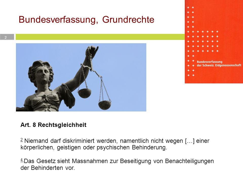 Bundesverfassung, Grundrechte