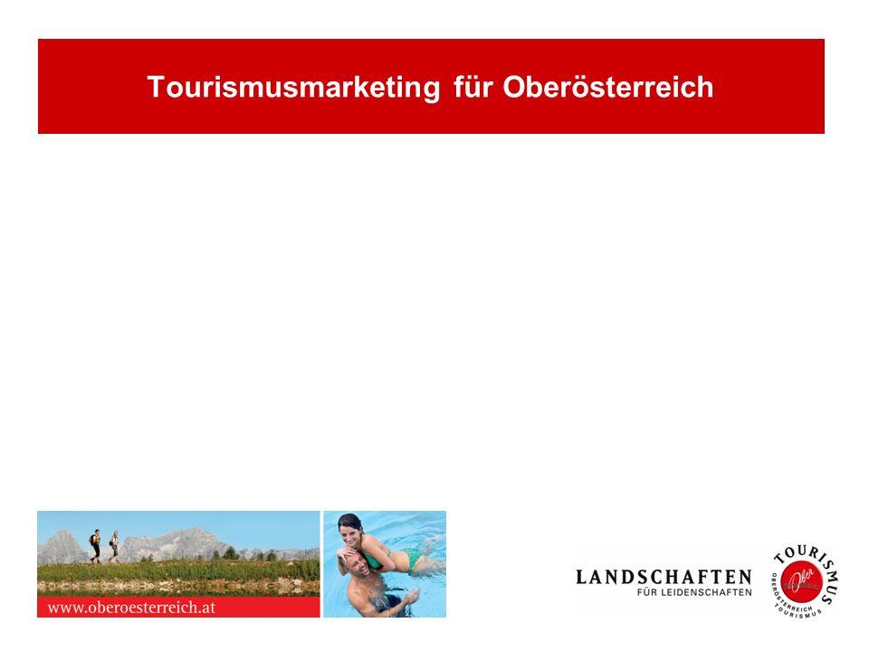 Tourismusmarketing für Oberösterreich