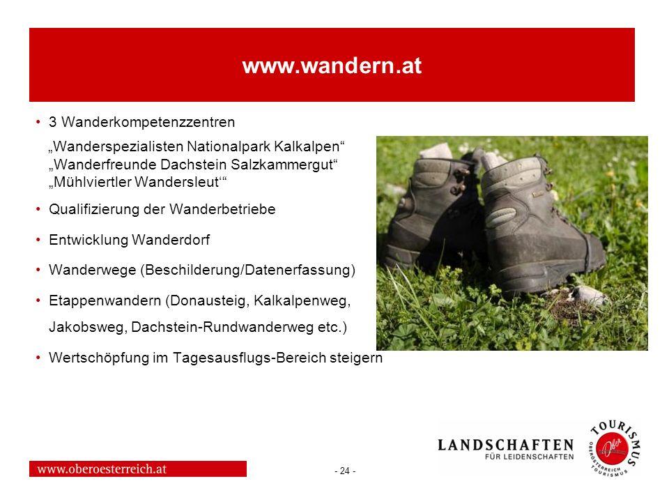 www.wandern.at 3 Wanderkompetenzzentren