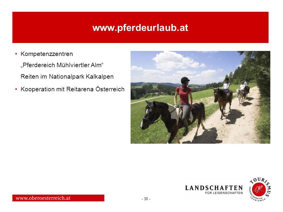 """www.pferdeurlaub.at Kompetenzzentren """"Pferdereich Mühlviertler Alm Reiten im Nationalpark Kalkalpen."""