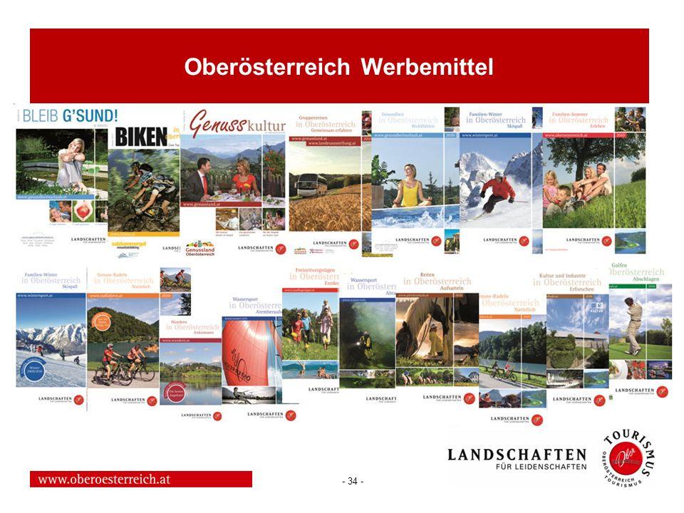 Oberösterreich Werbemittel