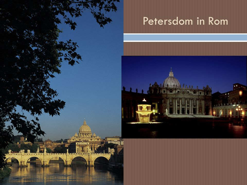 Petersdom in Rom