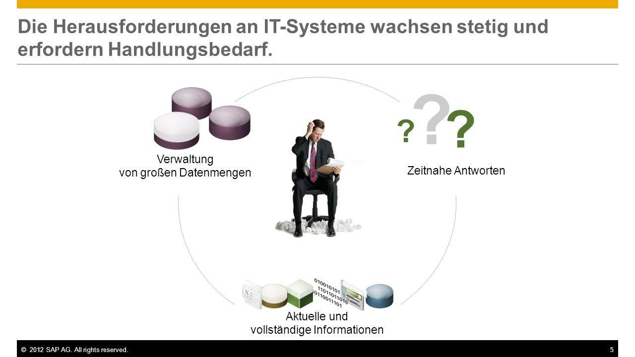 Die Herausforderungen an IT-Systeme wachsen stetig und erfordern Handlungsbedarf.