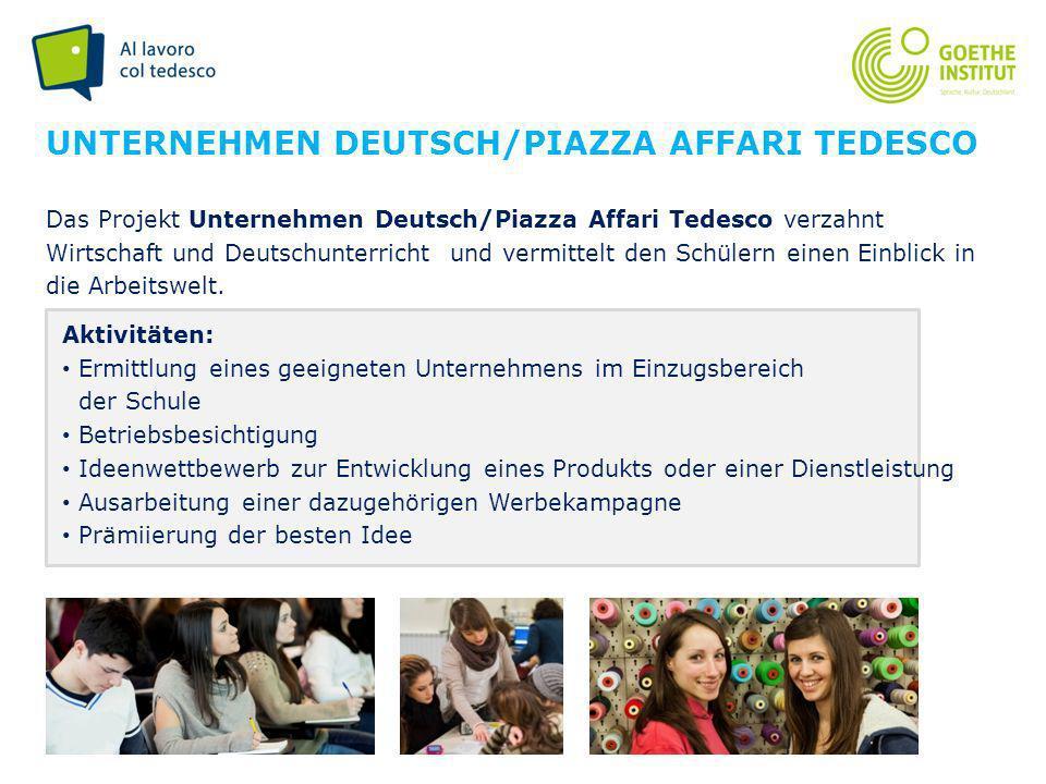 Unternehmen Deutsch/Piazza affari tedesco