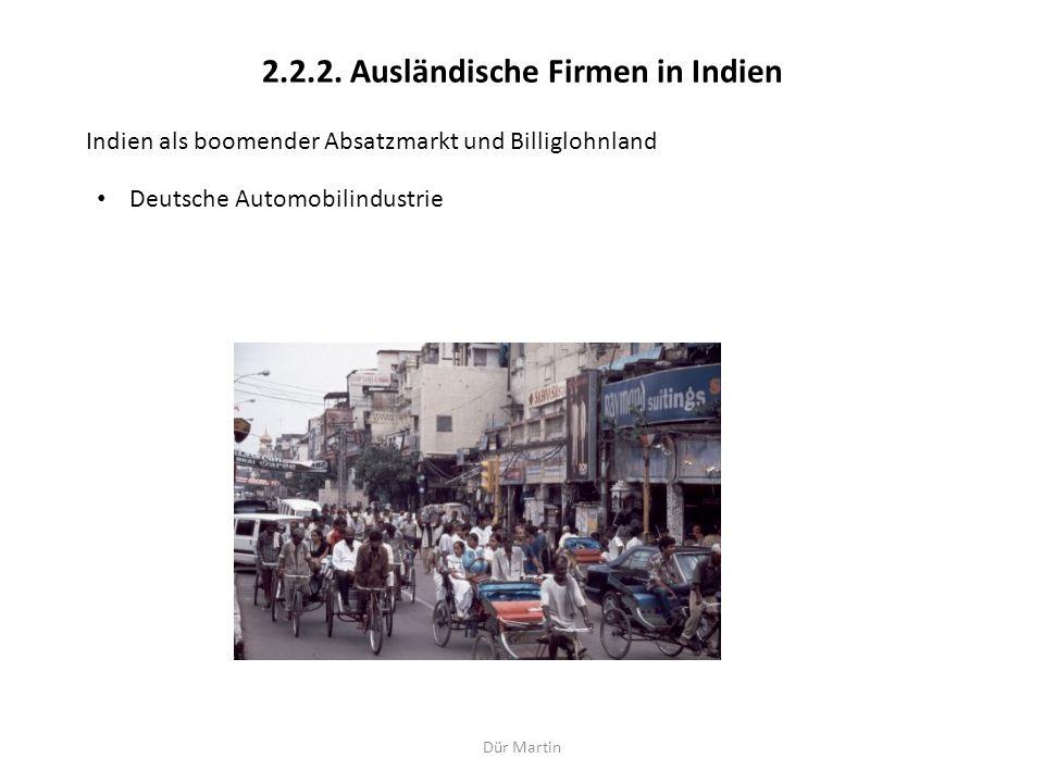 2.2.2. Ausländische Firmen in Indien
