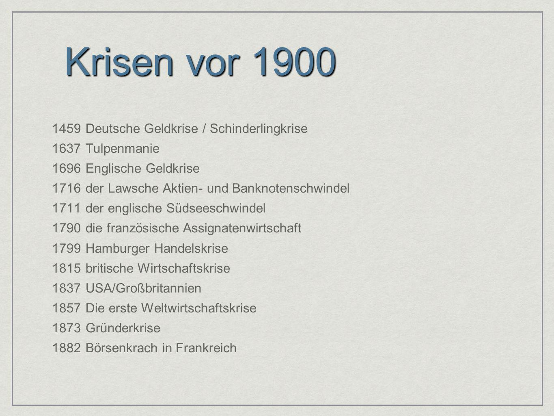 Krisen vor 1900 1459 Deutsche Geldkrise / Schinderlingkrise