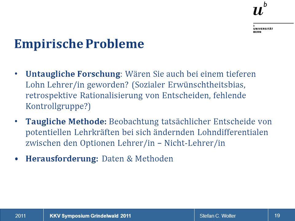 Empirische Probleme