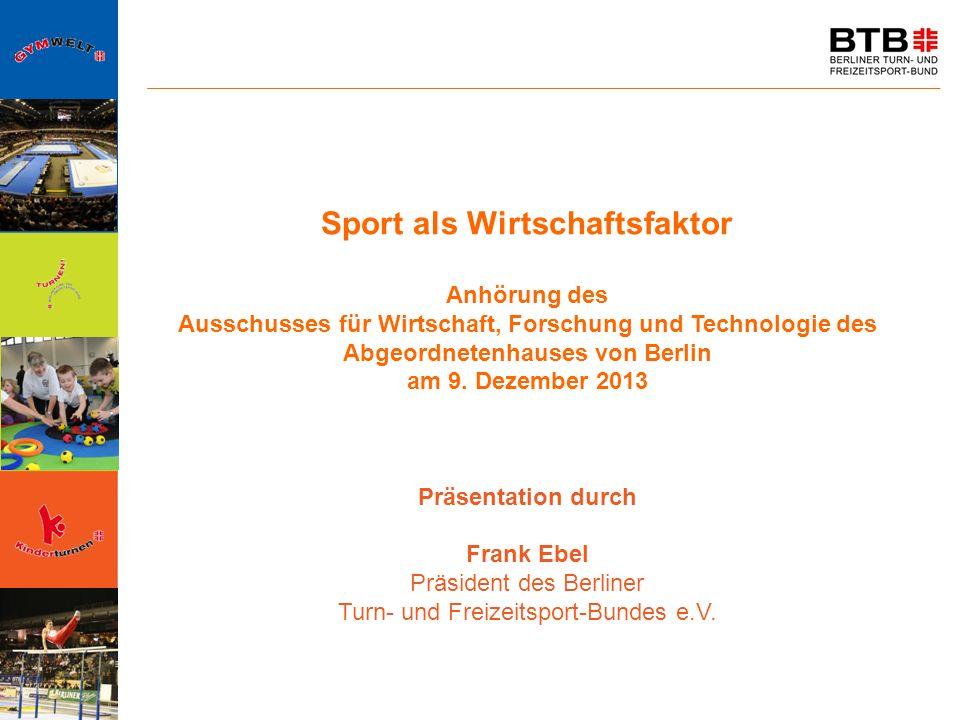 Sport als Wirtschaftsfaktor