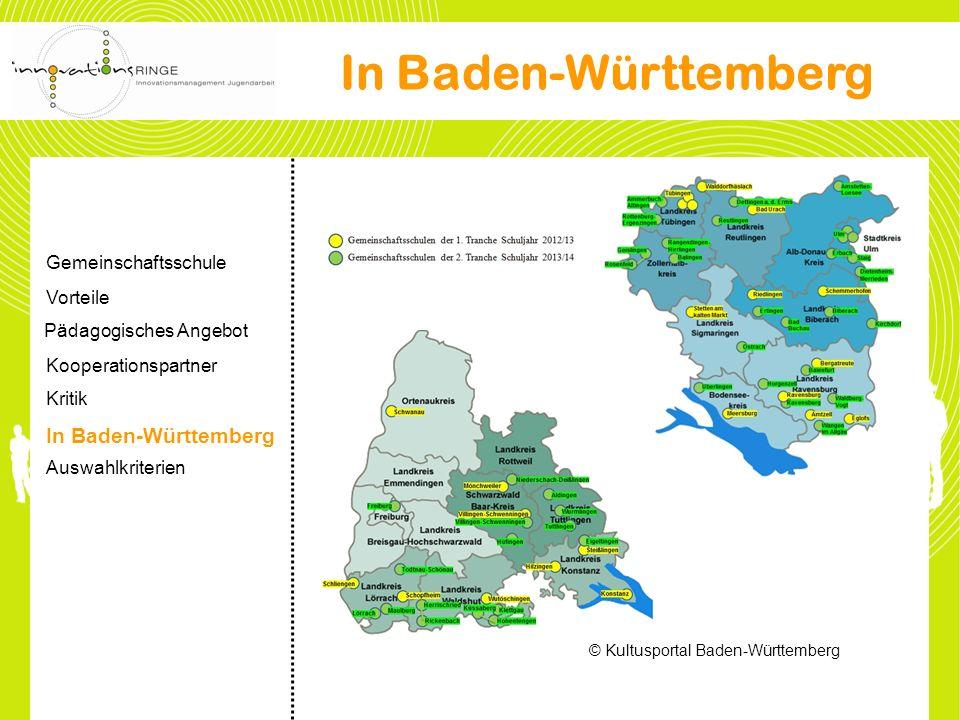 In Baden-Württemberg In Baden-Württemberg Gemeinschaftsschule Vorteile