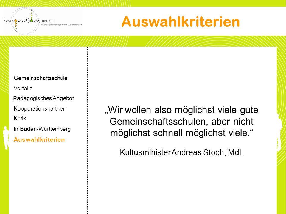Kultusminister Andreas Stoch, MdL