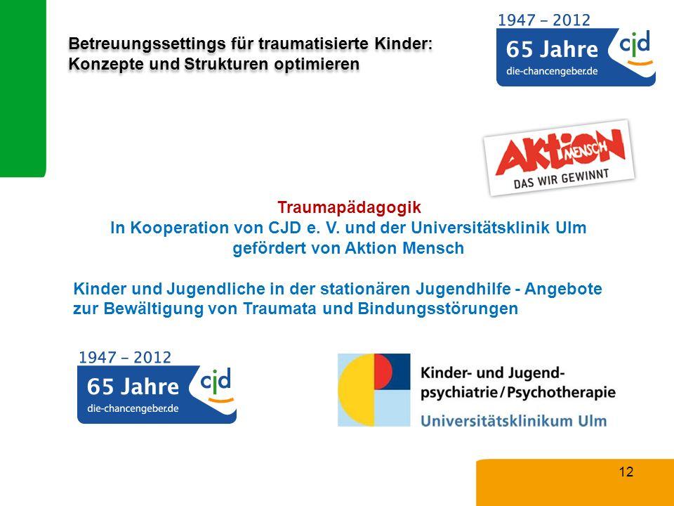 In Kooperation von CJD e. V. und der Universitätsklinik Ulm
