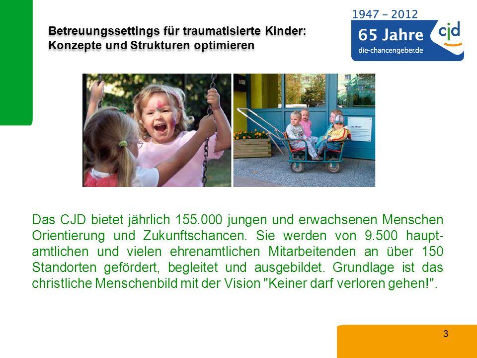 Das CJD bietet jährlich 155