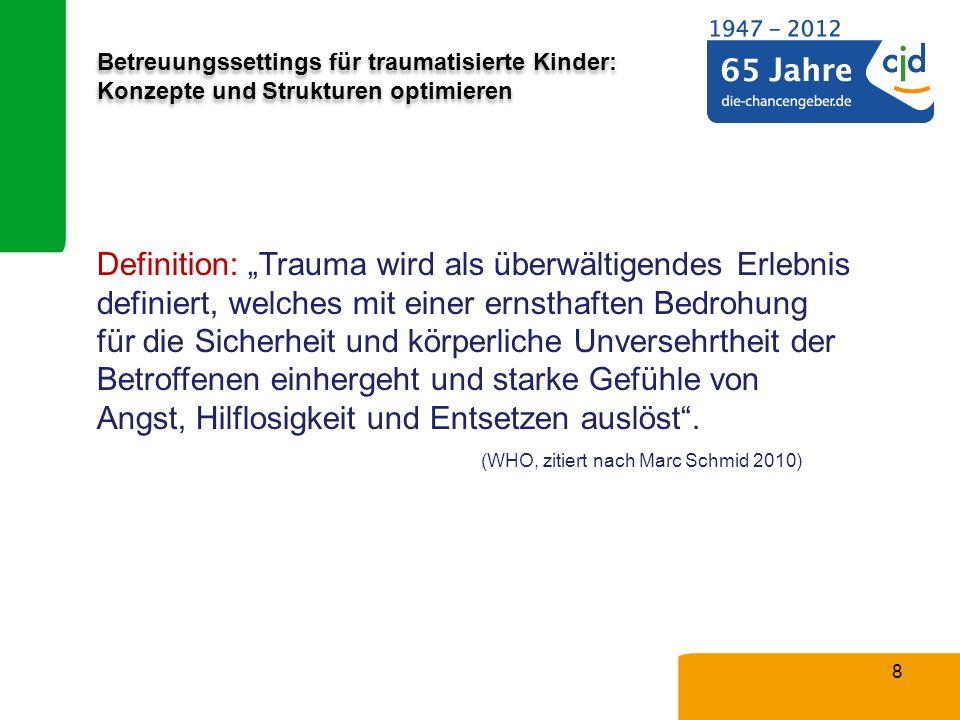 (WHO, zitiert nach Marc Schmid 2010)