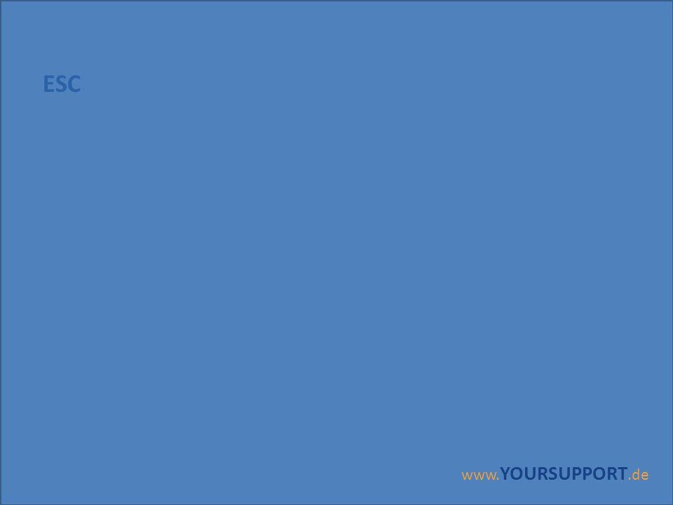 ESC www.YOURSUPPORT.de