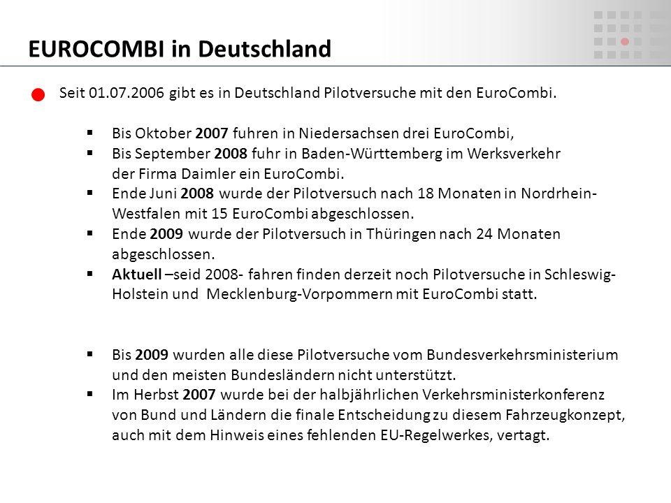EUROCOMBI in Deutschland