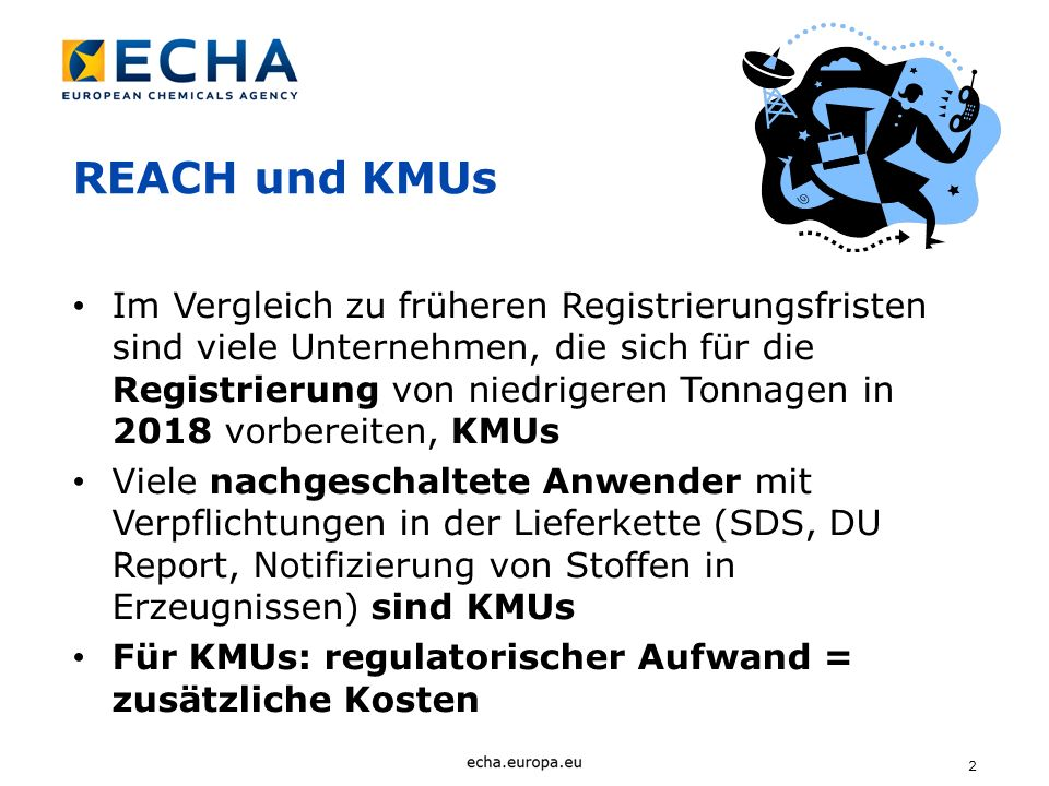 REACH und KMUs