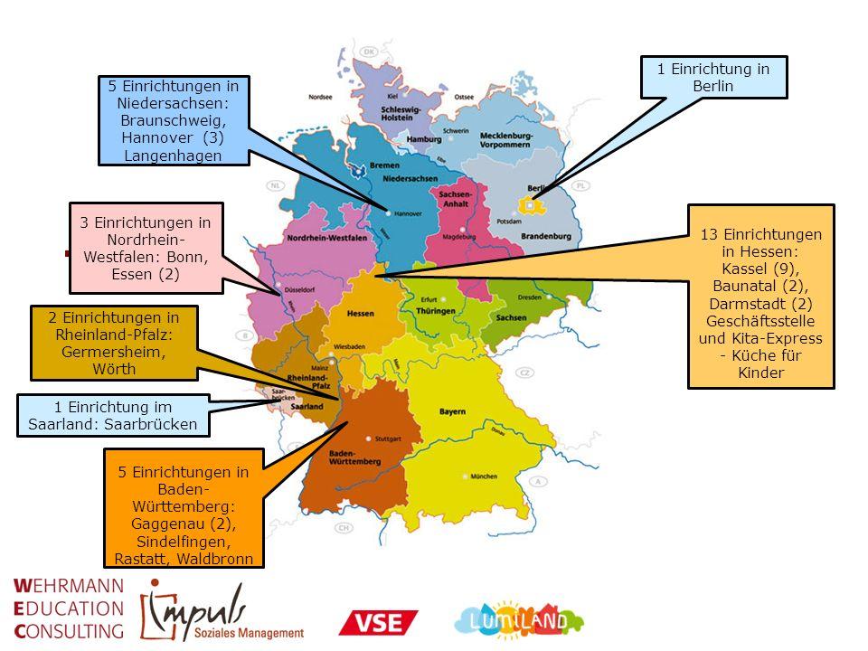3 Einrichtungen in Nordrhein-Westfalen: Bonn, Essen (2)
