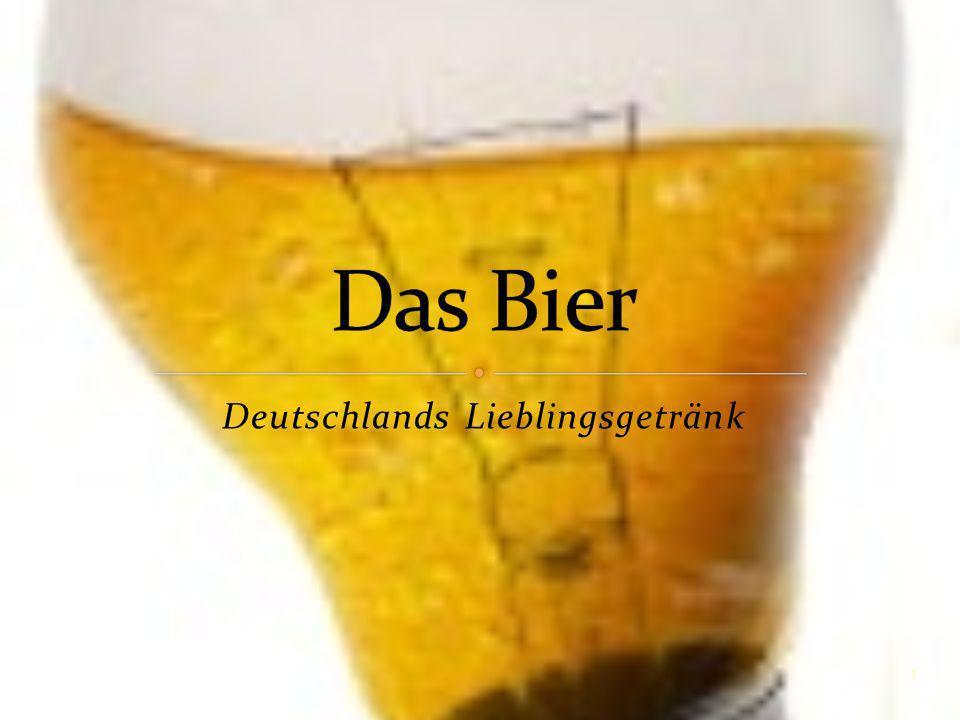 Deutschlands Lieblingsgetränk