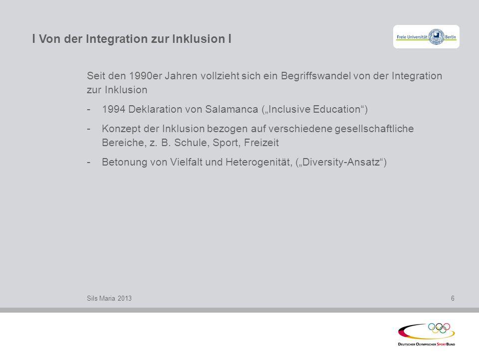 l Von der Integration zur Inklusion l