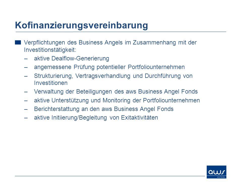 Kofinanzierungsvereinbarung