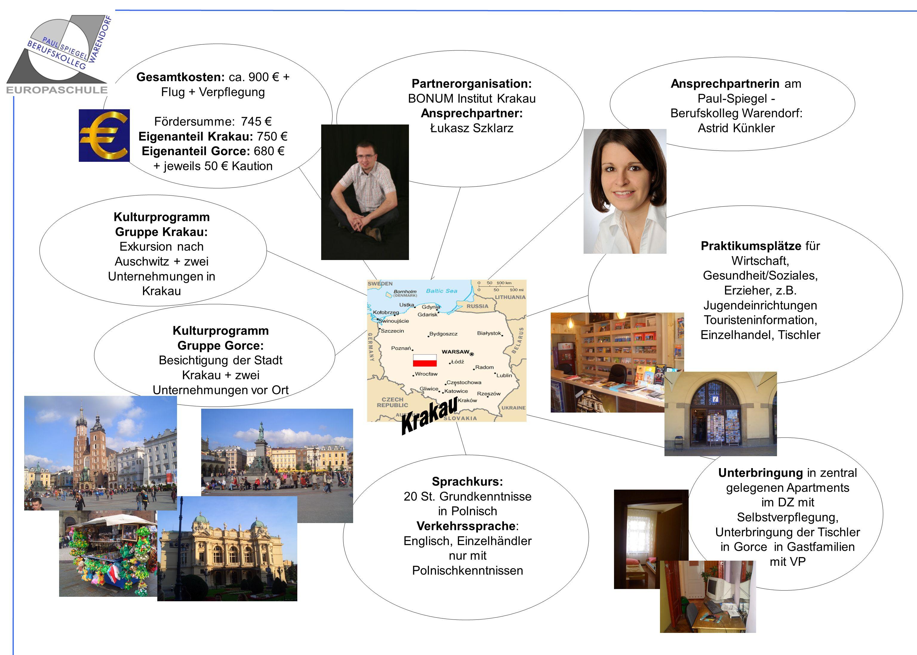 Partnerorganisation: Kulturprogramm Gruppe Krakau: