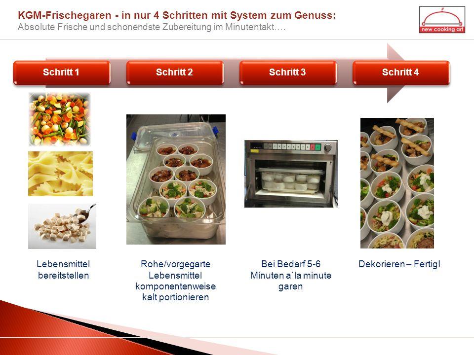 KGM-Frischegaren - in nur 4 Schritten mit System zum Genuss: