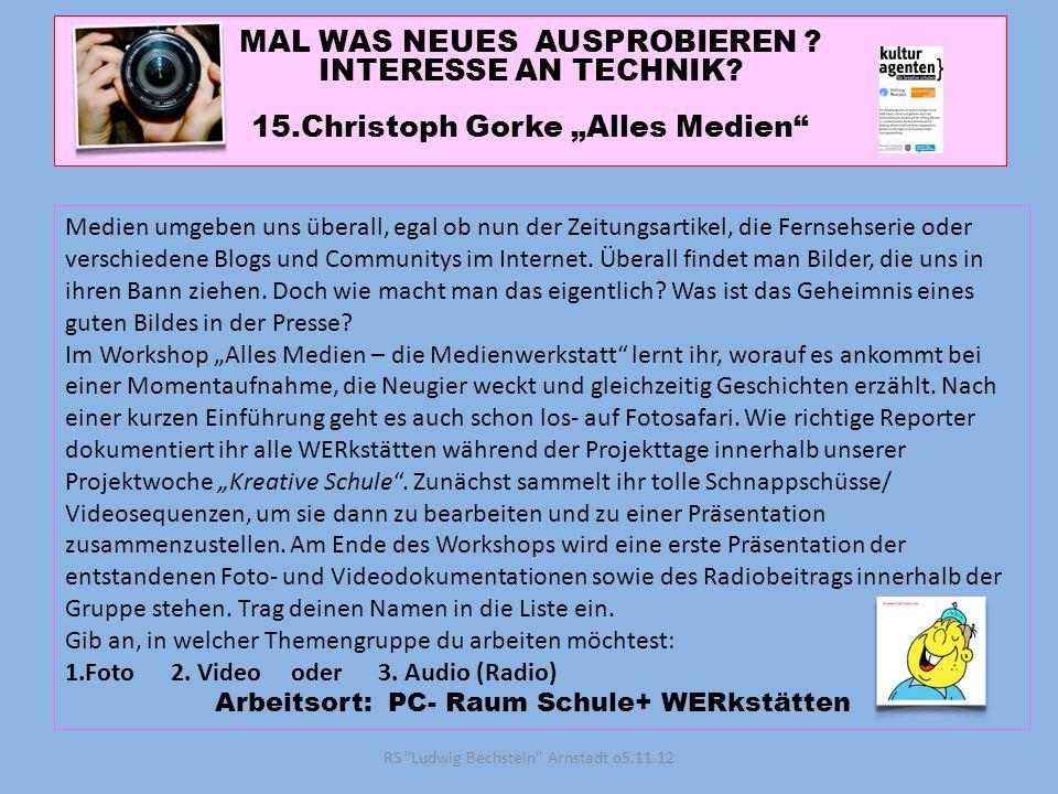 "15.Christoph Gorke ""Alles Medien"