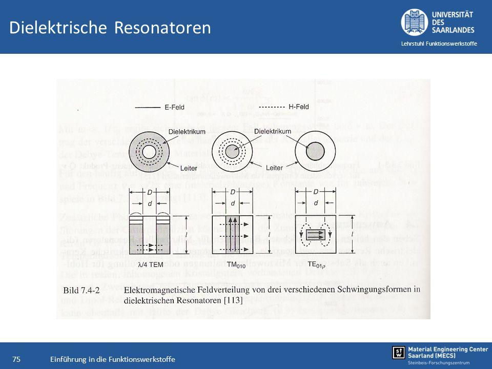 Dielektrische Resonatoren