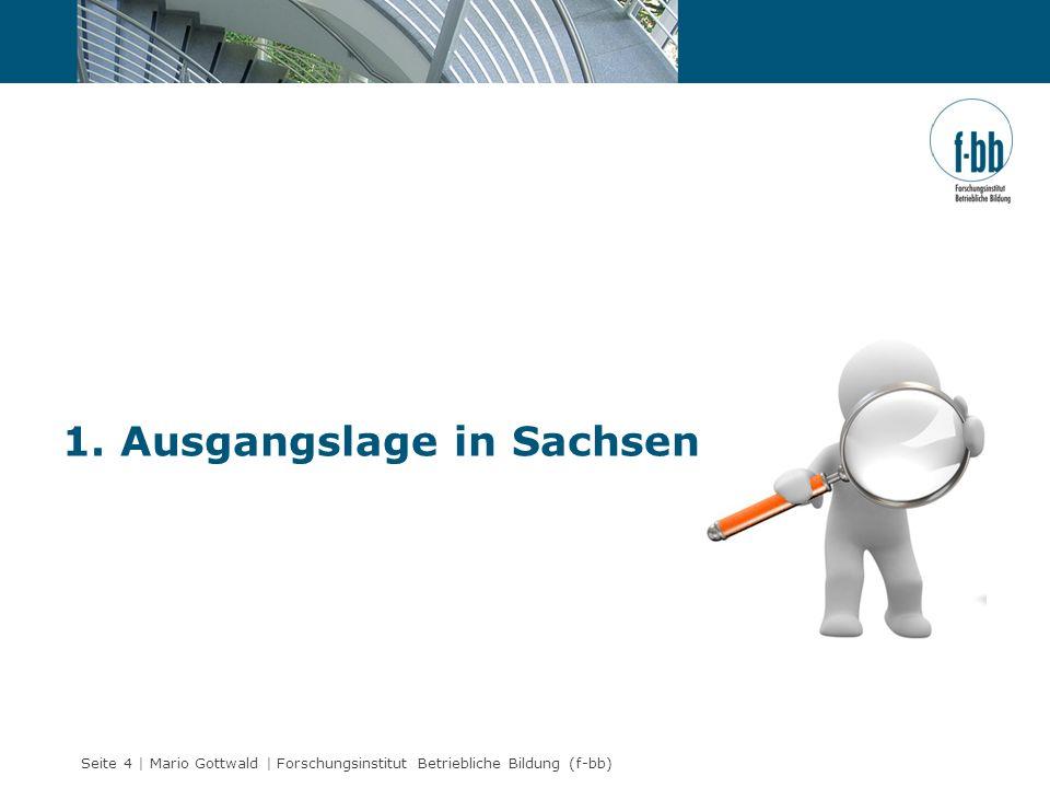 1. Ausgangslage in Sachsen