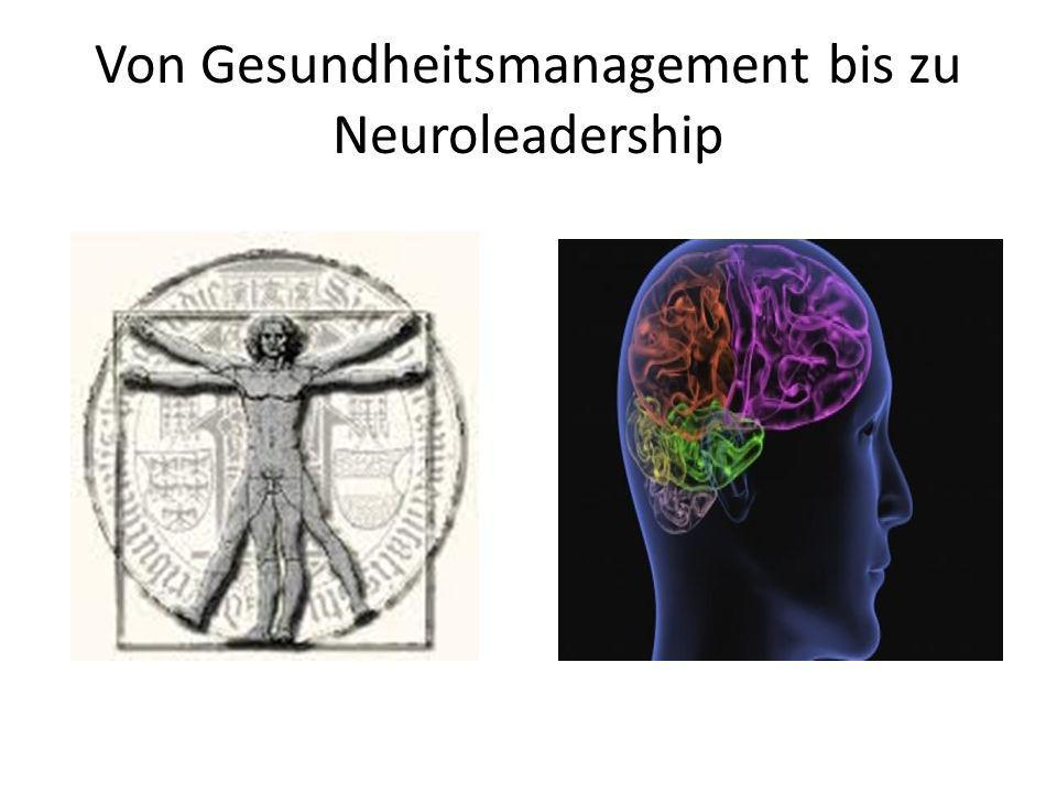Von Gesundheitsmanagement bis zu Neuroleadership