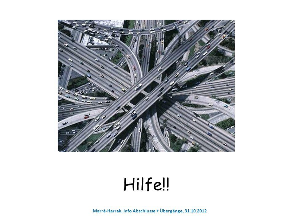 Marré-Harrak, Info Abschlusse + Übergänge, 31.10.2012