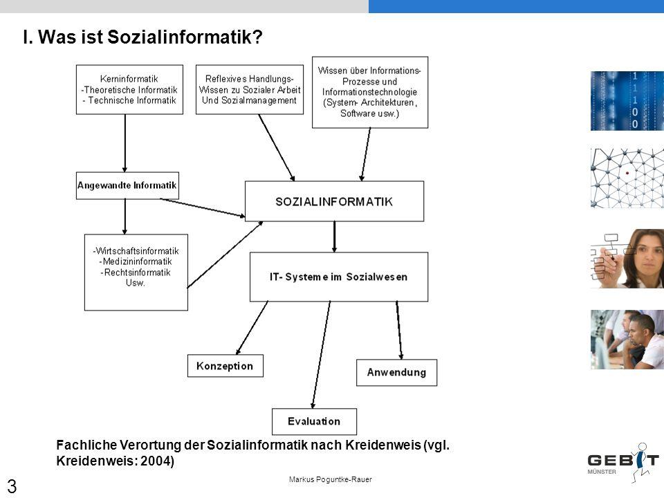 I. Was ist Sozialinformatik