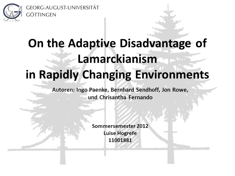 On the Adaptive Disadvantage of Lamarckianism in Rapidly Changing Environments