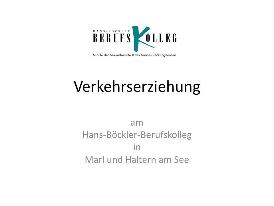 am Hans-Böckler-Berufskolleg in Marl und Haltern am See