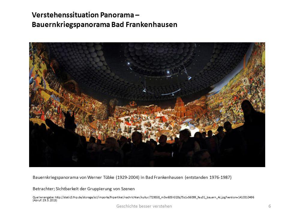 Verstehenssituation Panorama – Bauernkriegspanorama Bad Frankenhausen