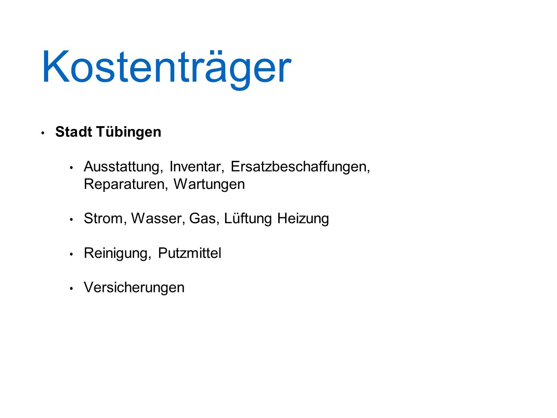 Kostenträger Stadt Tübingen