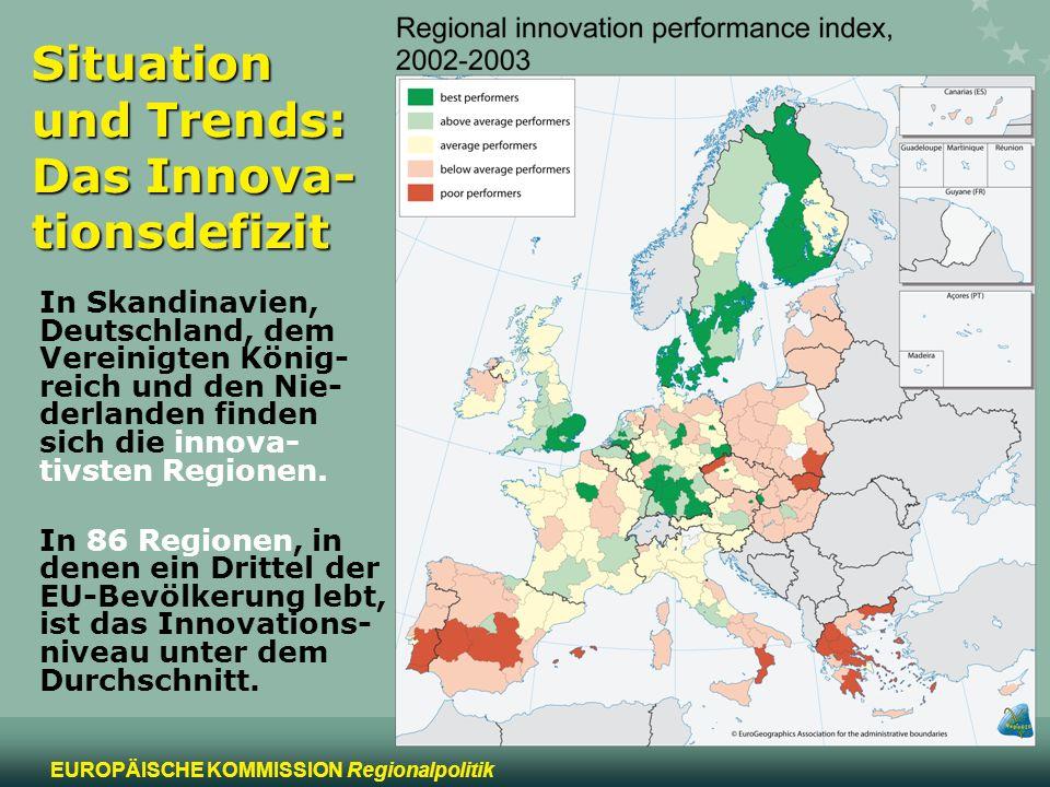 Situation und Trends: Das Innova-tionsdefizit