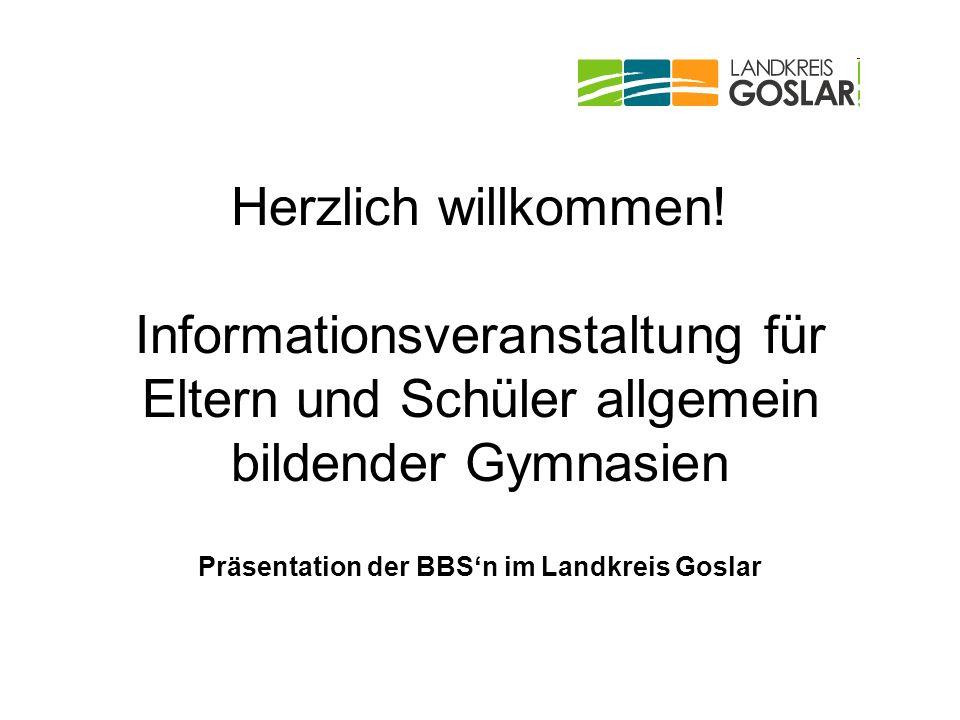 Präsentation der BBS'n im Landkreis Goslar