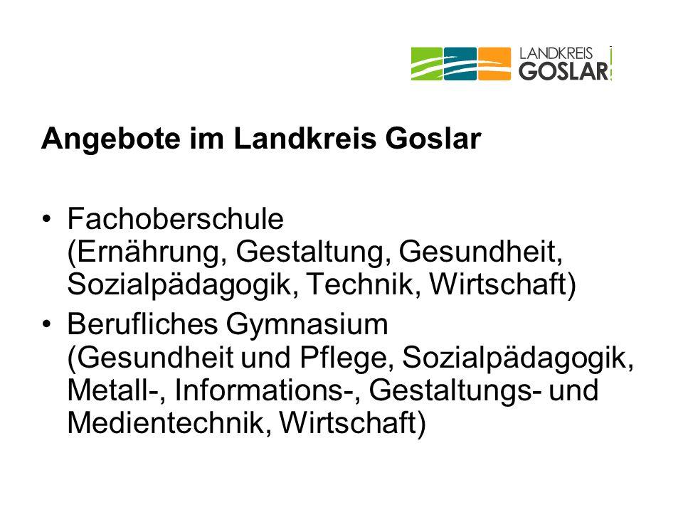 Angebote im Landkreis Goslar