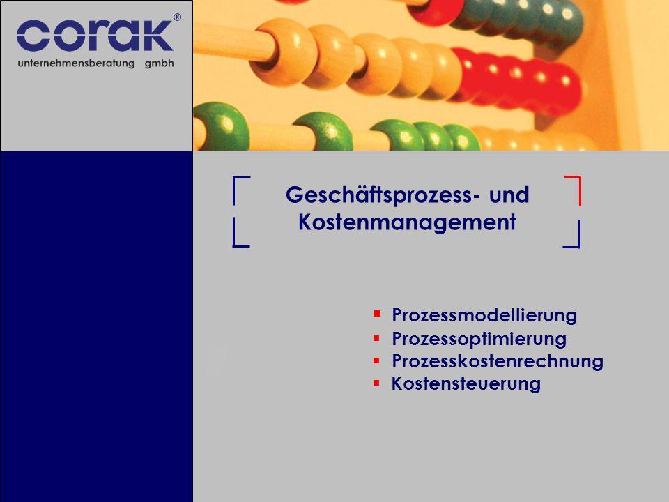 Geschäftsprozess- und Kostenmanagement