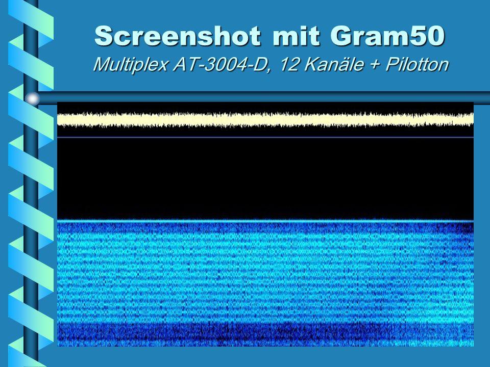 Screenshot mit Gram50 Multiplex AT-3004-D, 12 Kanäle + Pilotton