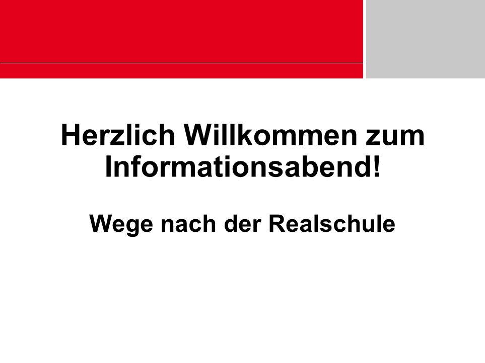 Herzlich Willkommen zum Informationsabend!