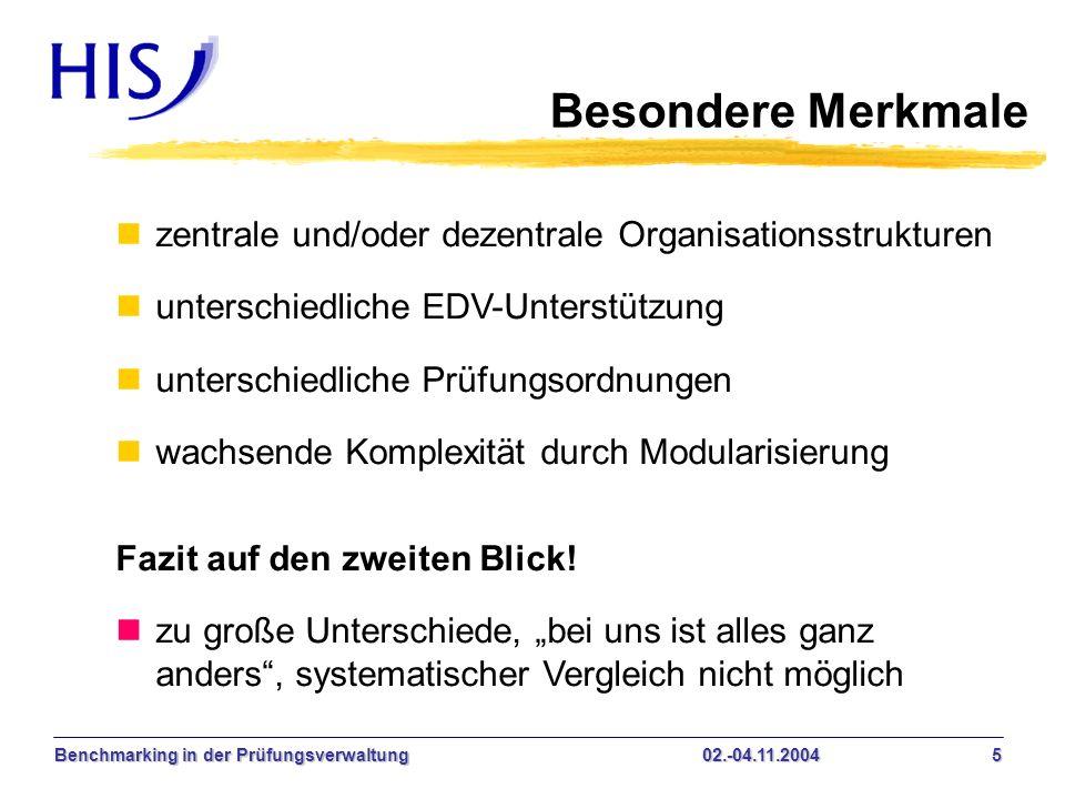 Besondere Merkmale zentrale und/oder dezentrale Organisationsstrukturen. unterschiedliche EDV-Unterstützung.