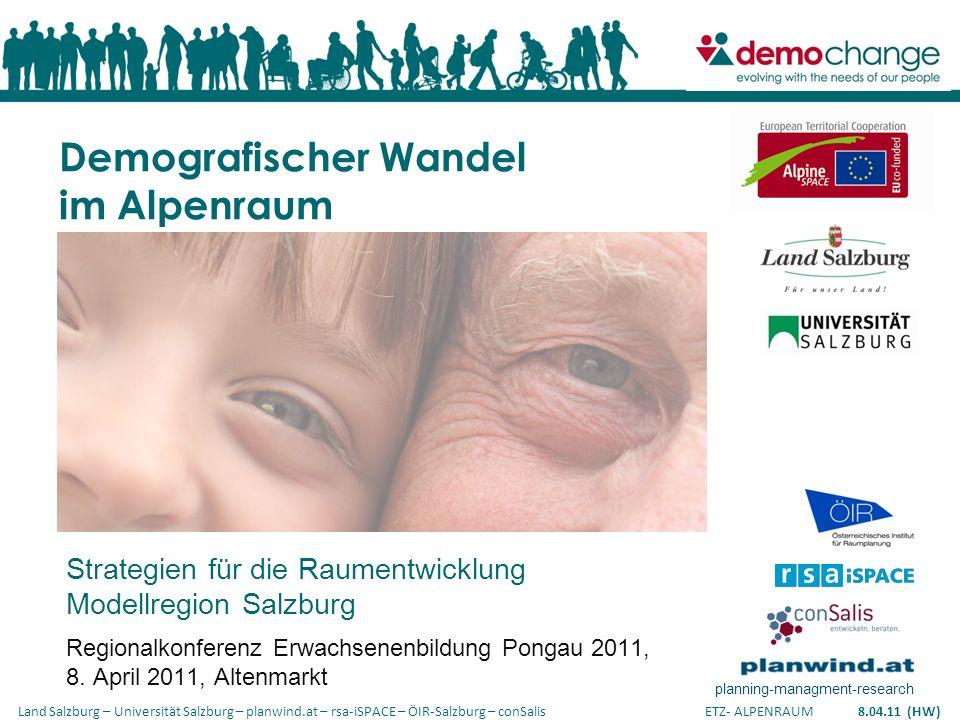 Demografischer Wandel im Alpenraum