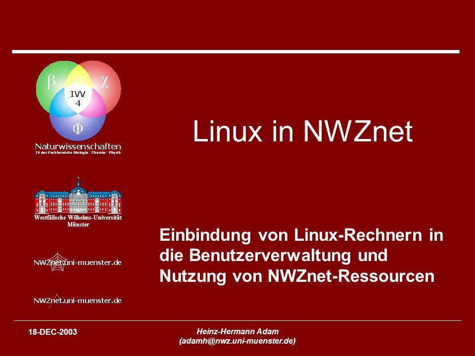 (adamh@nwz.uni-muenster.de)