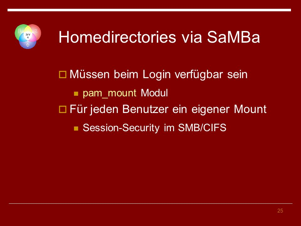 Homedirectories via SaMBa